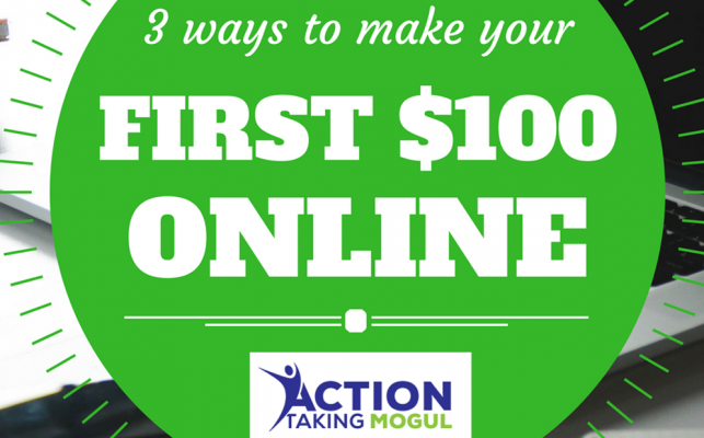 ways to make your first $100 online