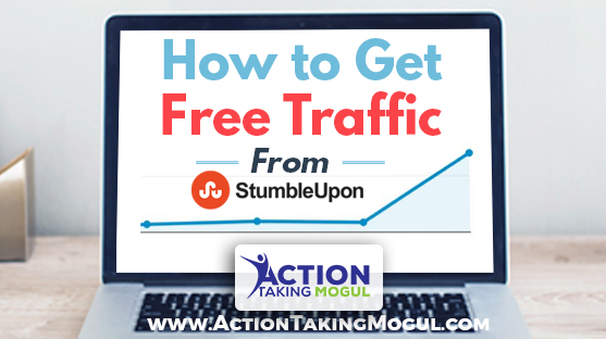 feature image of how to get free traffic from stumbleupon